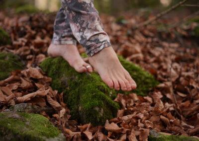 Le yoga nomade en forêt de Saou (26) de mai à novembre